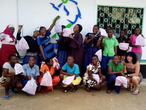 Kenya cloth pads