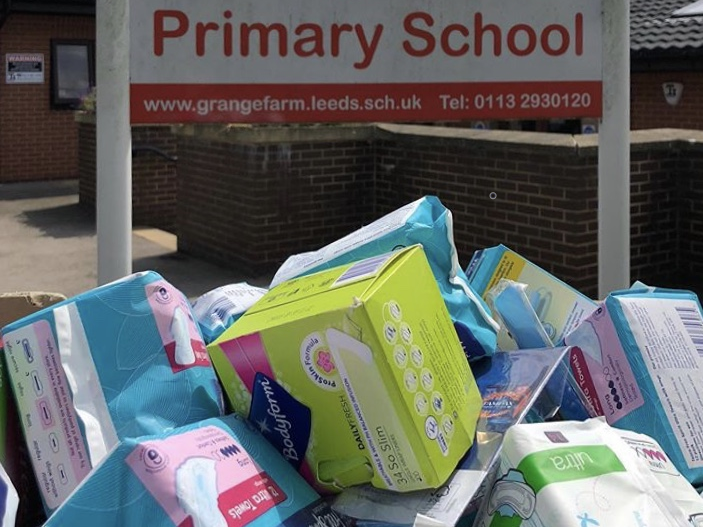 Providing sanitary products